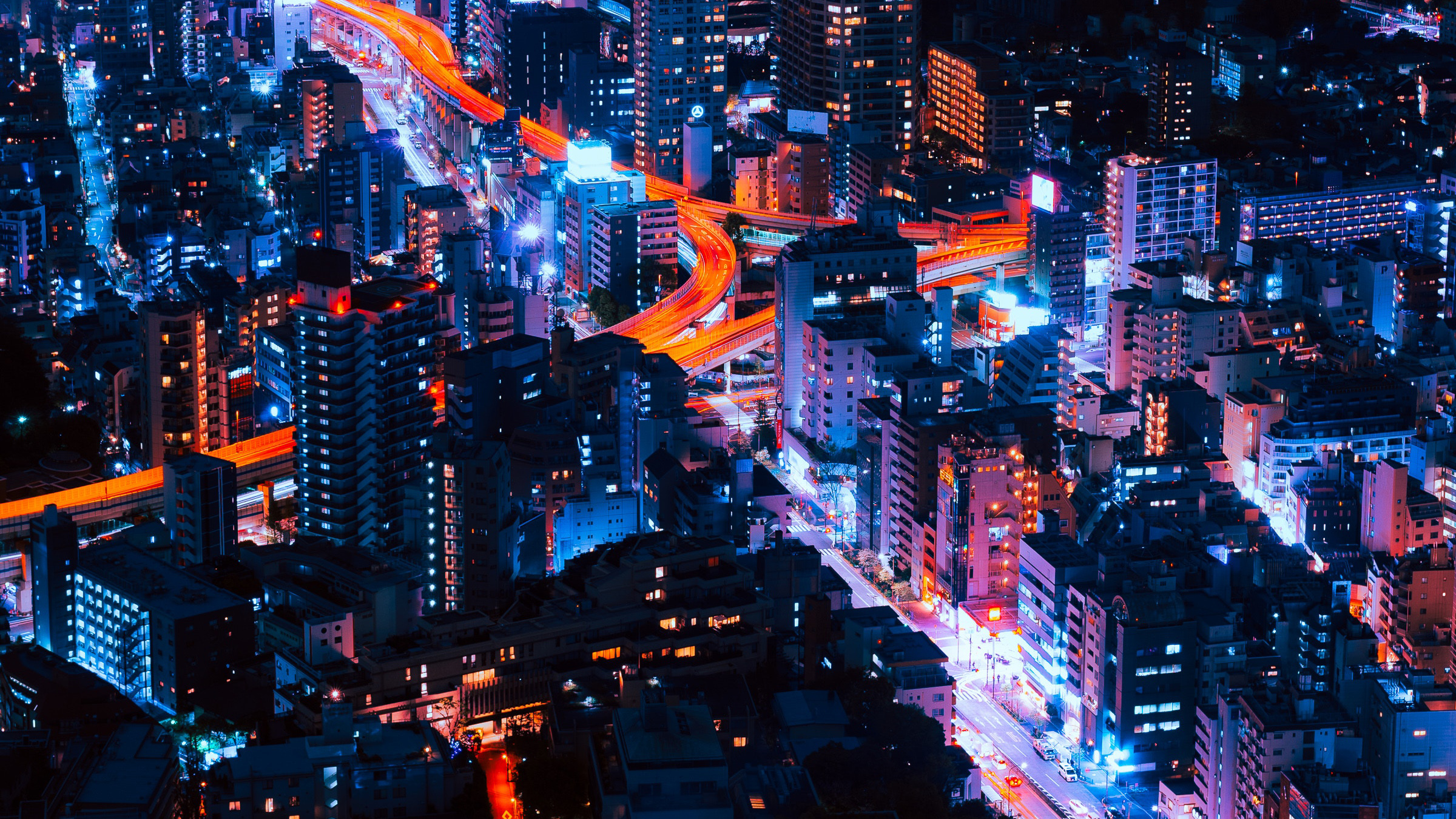 Tokyo Cityscape Neon Lights, HD World, 4k Wallpapers, Images, Backgrounds, Photos and Pictures