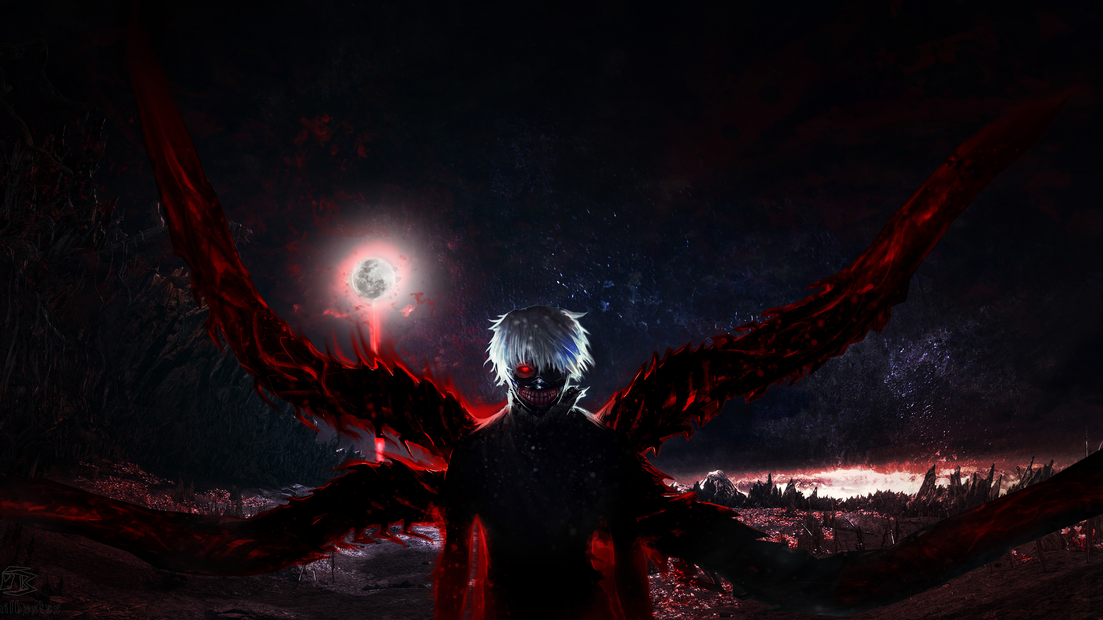 1920x1080 Tokyo Ghoul 4k Laptop Full Hd 1080p Hd 4k Wallpapers Images Backgrounds Photos And Pictures