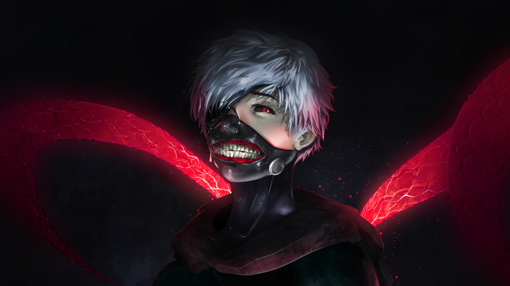 1920x1080 Tokyo Ghoul Ken Kaneki Art Laptop Full Hd 1080p Hd 4k Wallpapers Images Backgrounds Photos And Pictures
