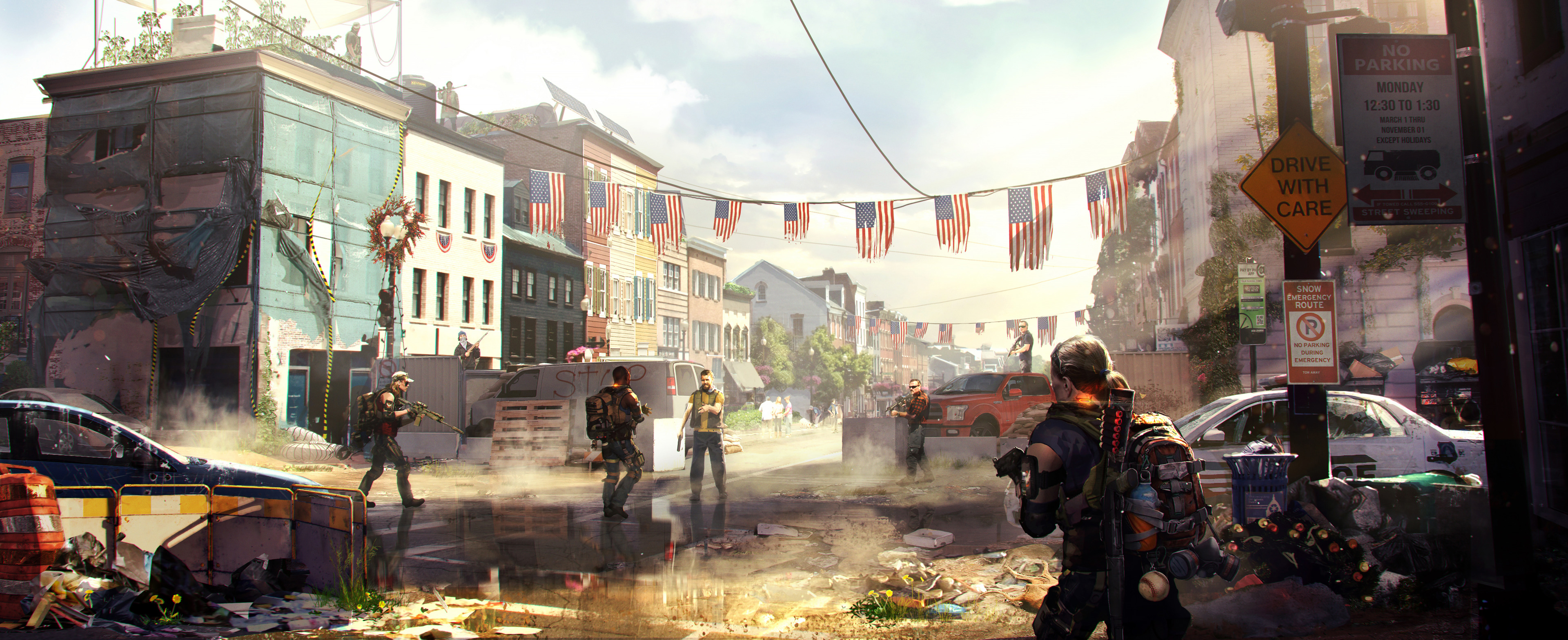 Tom Clancys The Division 2 Hd Games 4k Wallpapers Images