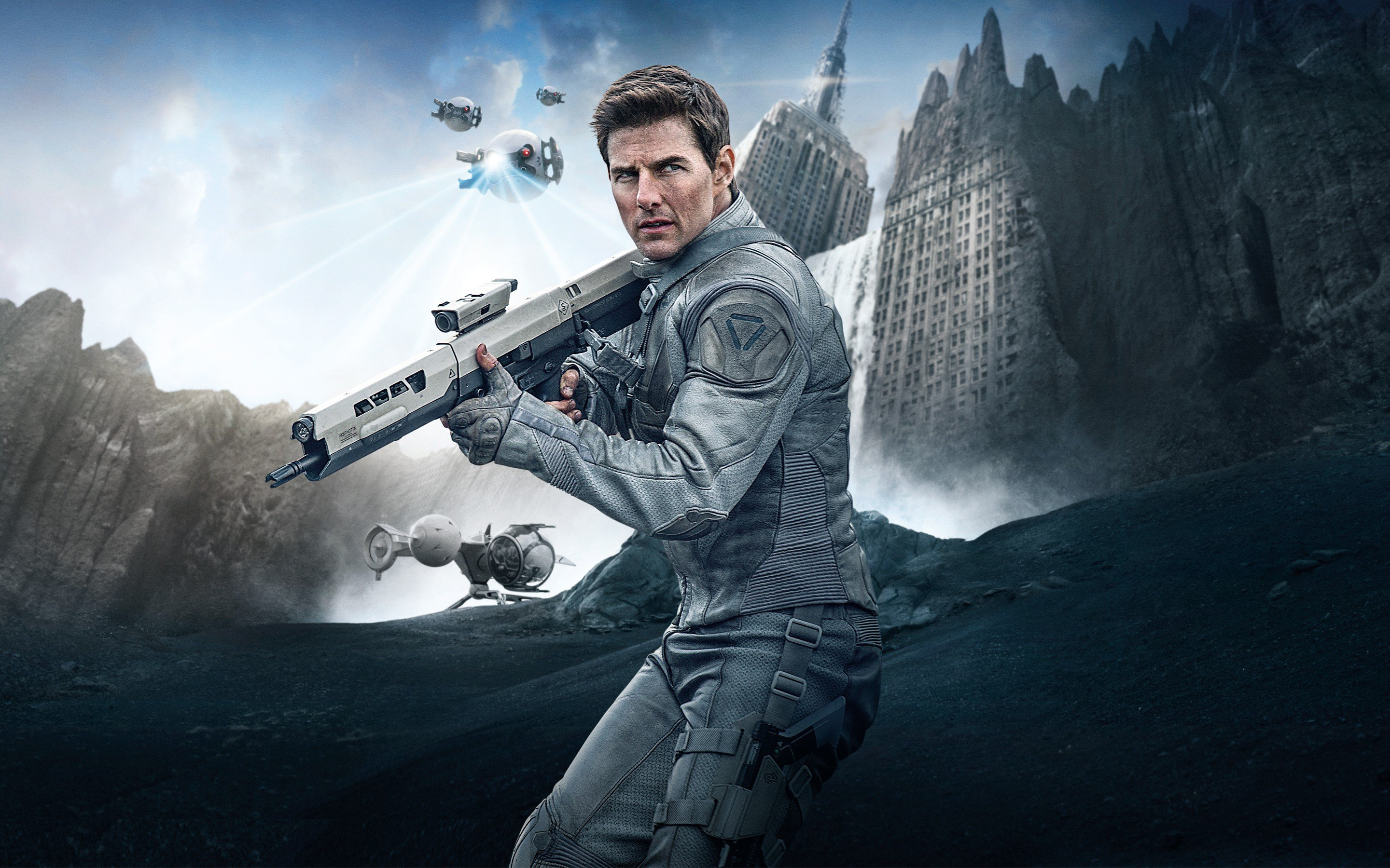 Tom Cruise In Oblivion, HD Movies, 4k