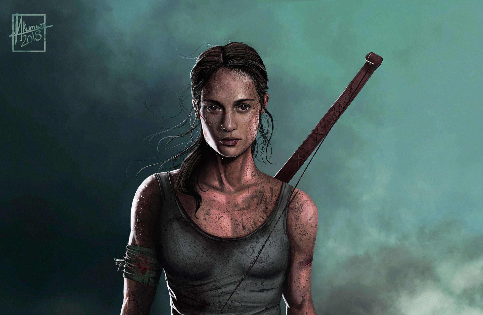 1280x720 Tomb Raider Alicia Vikander Artwork 720p Hd 4k Wallpapers