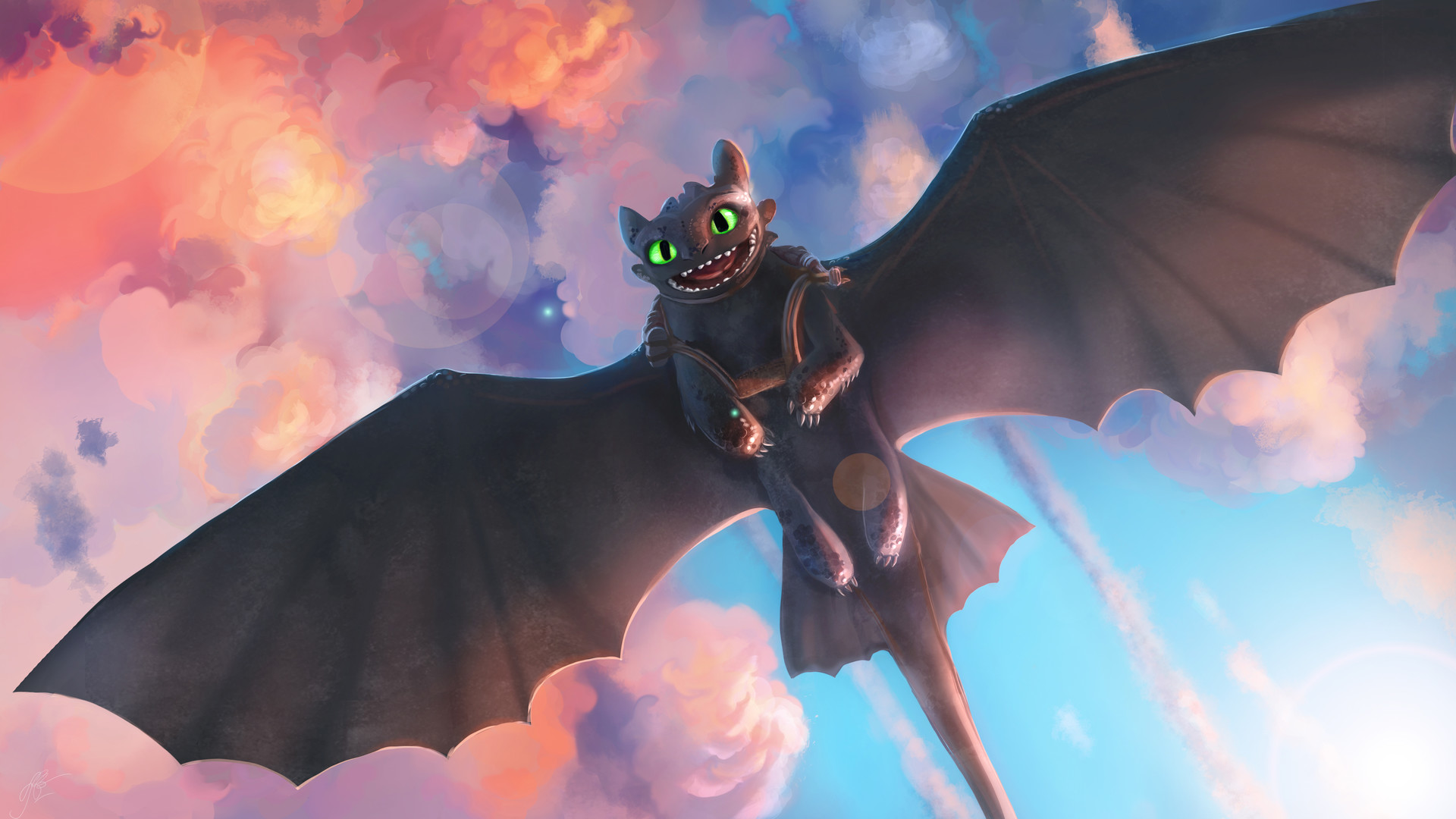 1920x1080 Toothless Artwork Laptop Full Hd 1080p Hd 4k Wallpapers Images Backgrounds Photos And Pictures