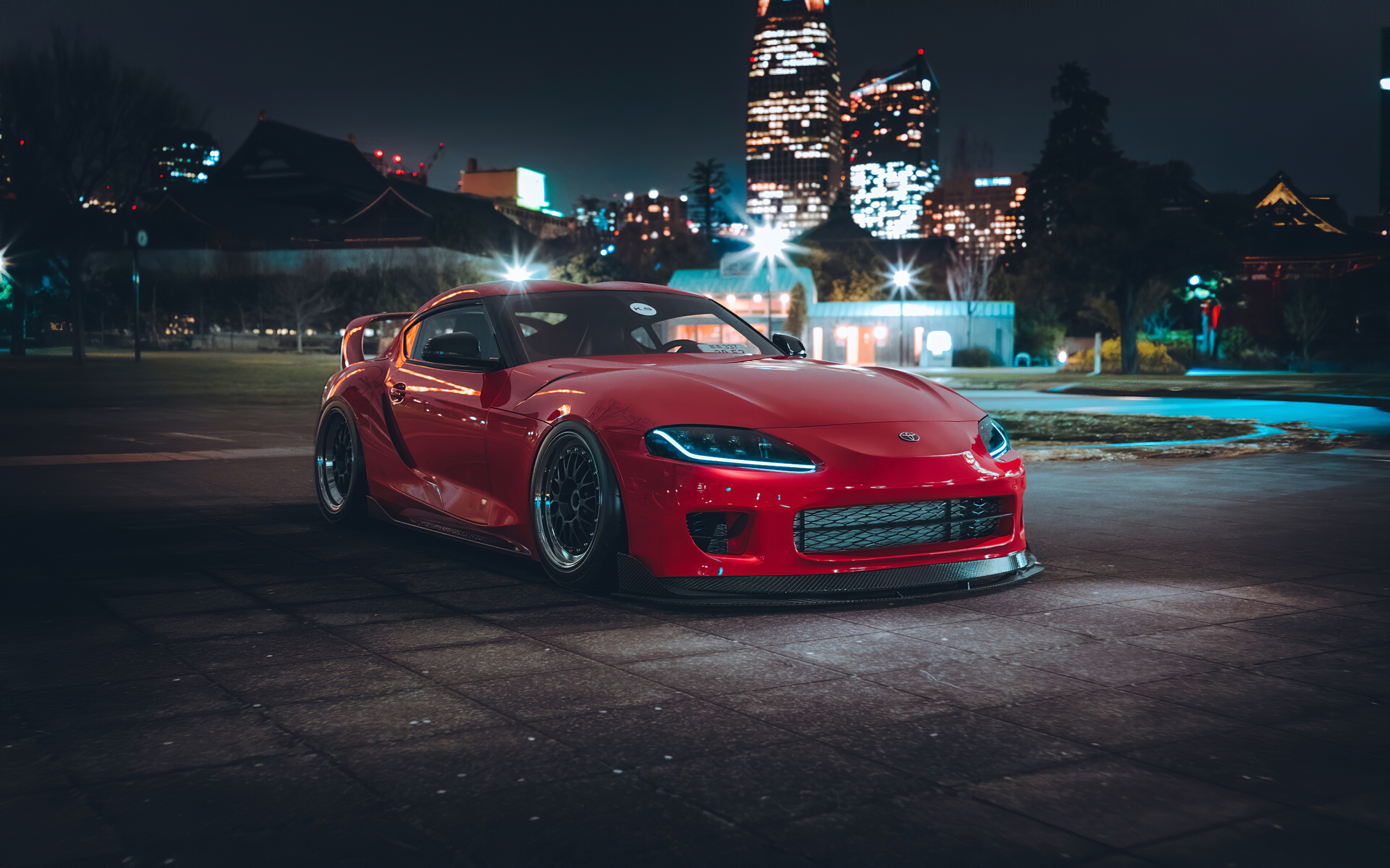 Toyota Supra 2020 Tuned 4k Hd Cars 4k Wallpapers Images Backgrounds Photos And Pictures