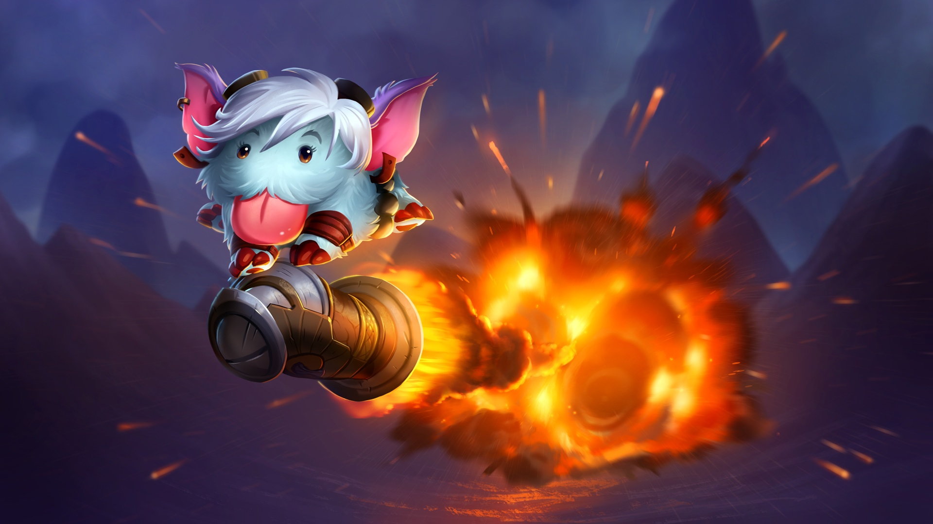 Tristana Poro League Of Legends Hd Games 4k Wallpapers Images