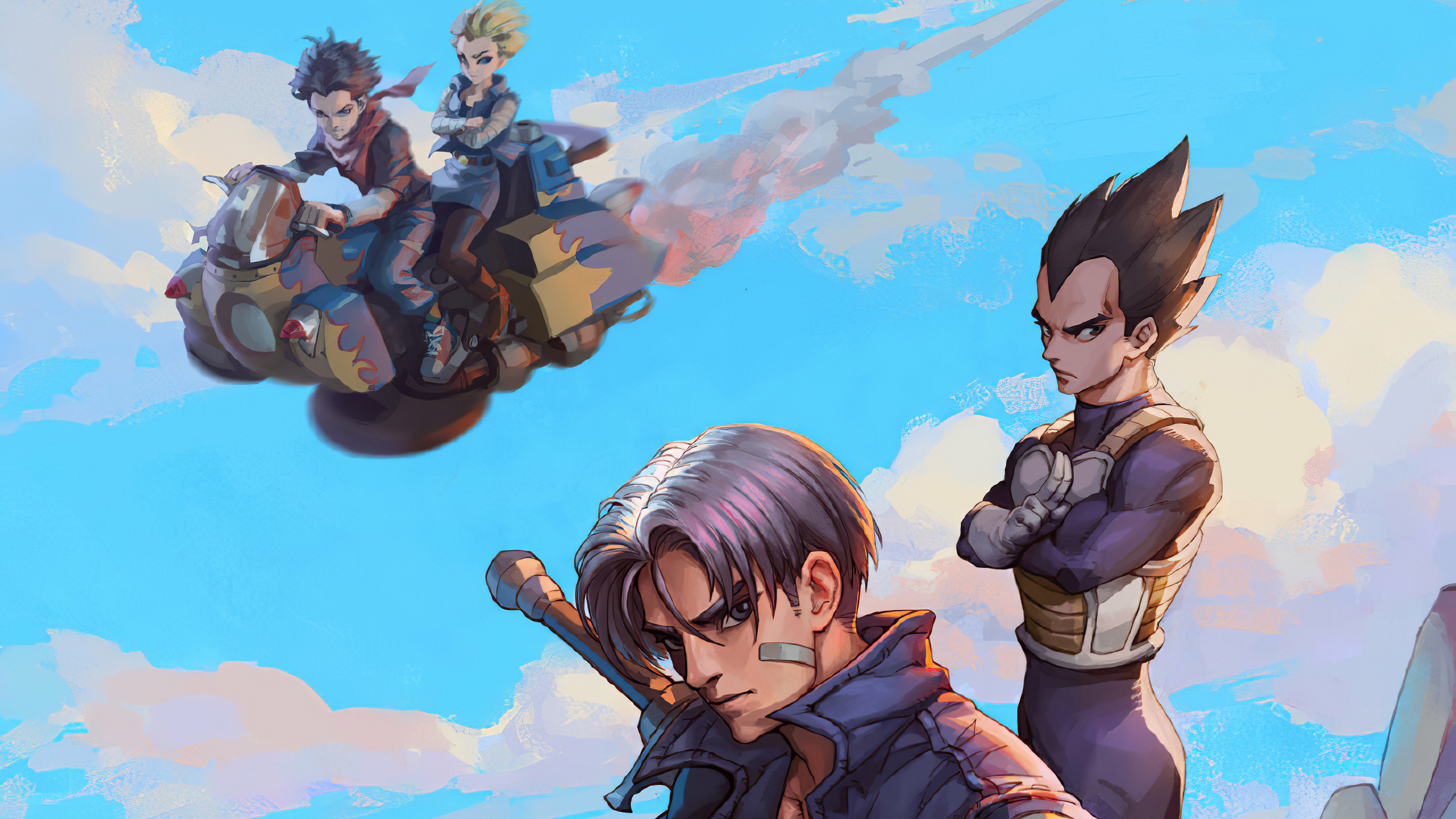 Trunks Hd Anime 4k Wallpapers Images Backgrounds Photos And Pictures