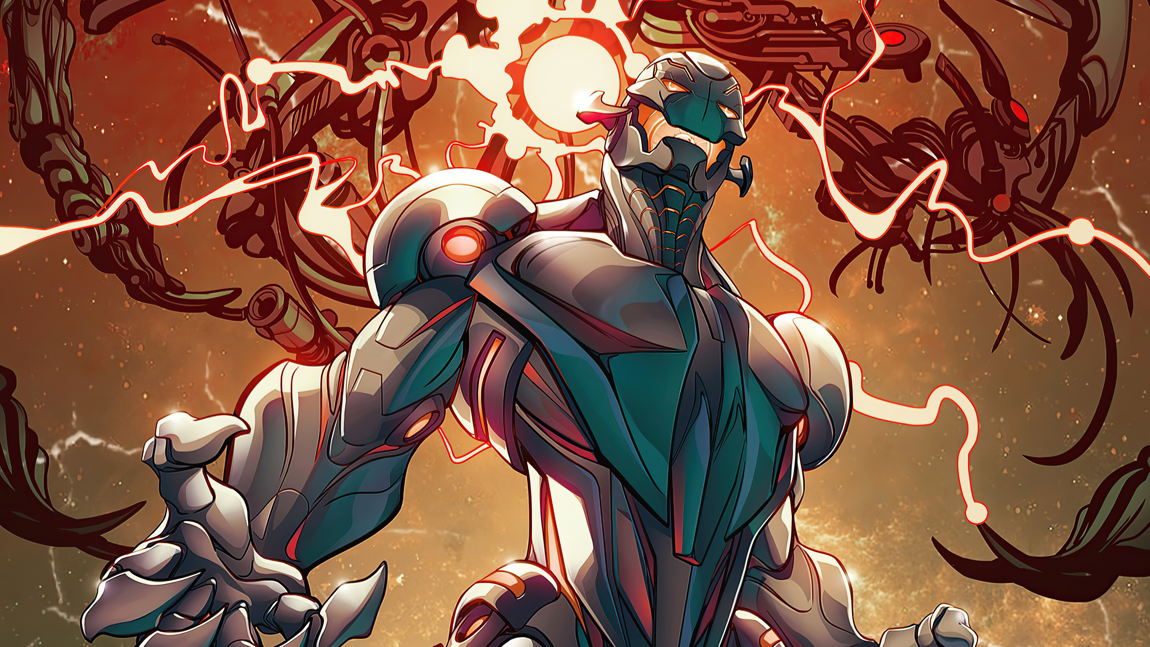 In the Eighth episode of the series, Ultron is shown to have captured all the infinity stones. Subsequently, he becomes super powerful and wipes out life in his reality. Due to his ability, he is able to see the other worlds and the Watcher. Ultron seeks to put an end to life in the multiverse. The Watcher contacts Strange to prevent this; who is trapped in his own reality.