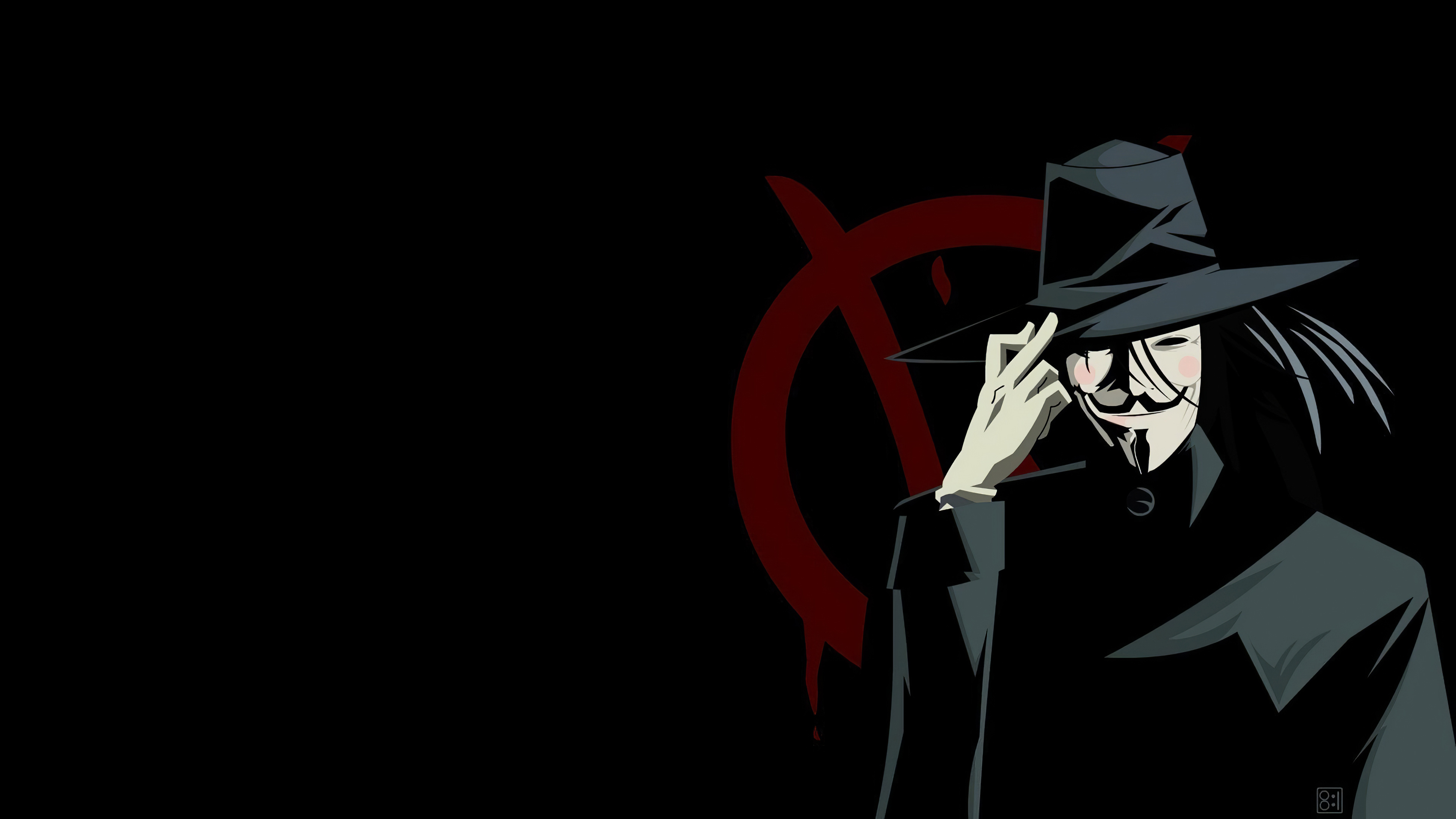 V For Vendetta Anonymus 4k Hd Computer 4k Wallpapers Images