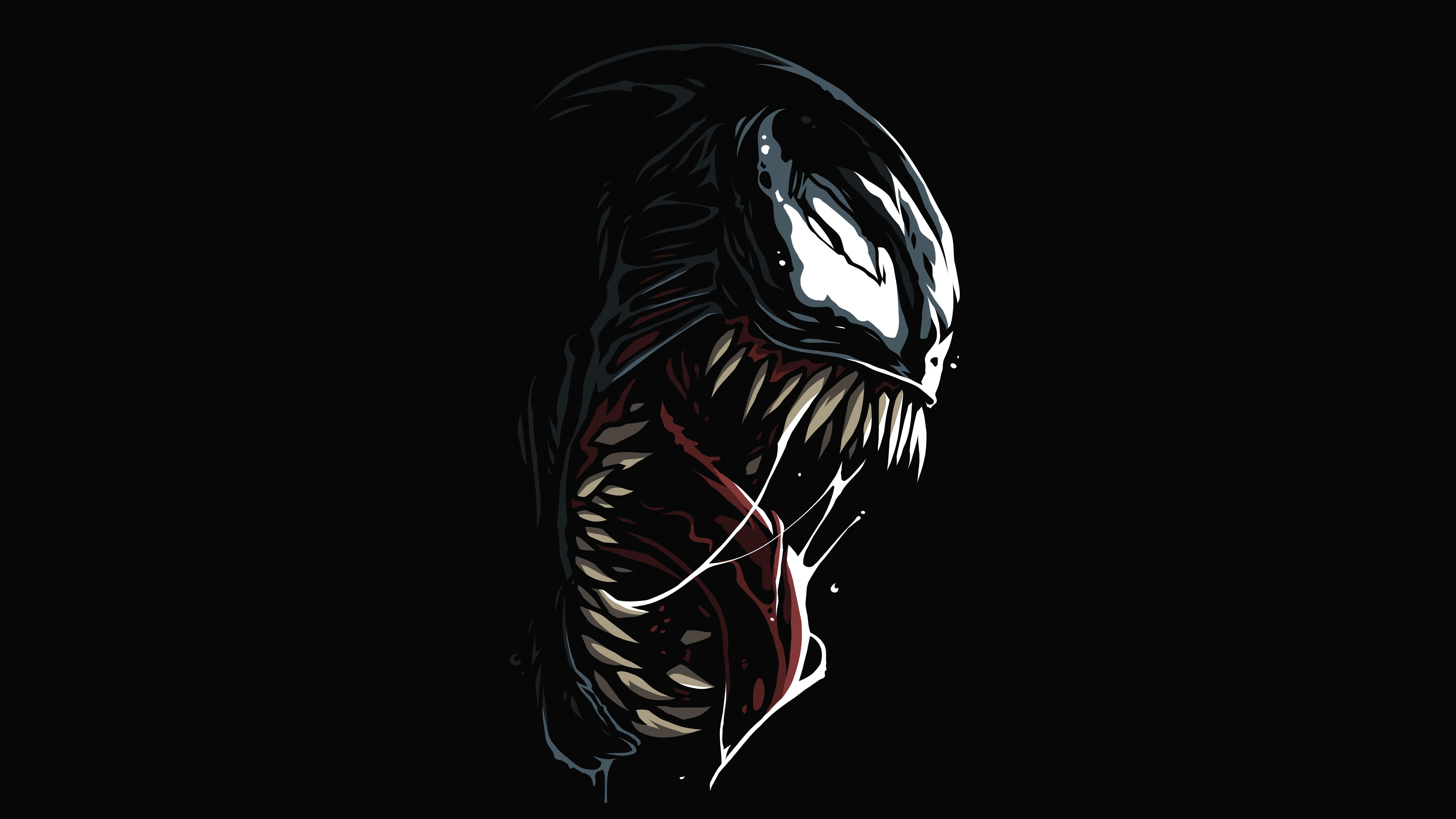 Venom Amoled 4k Hd Superheroes 4k Wallpapers Images Backgrounds Photos And Pictures