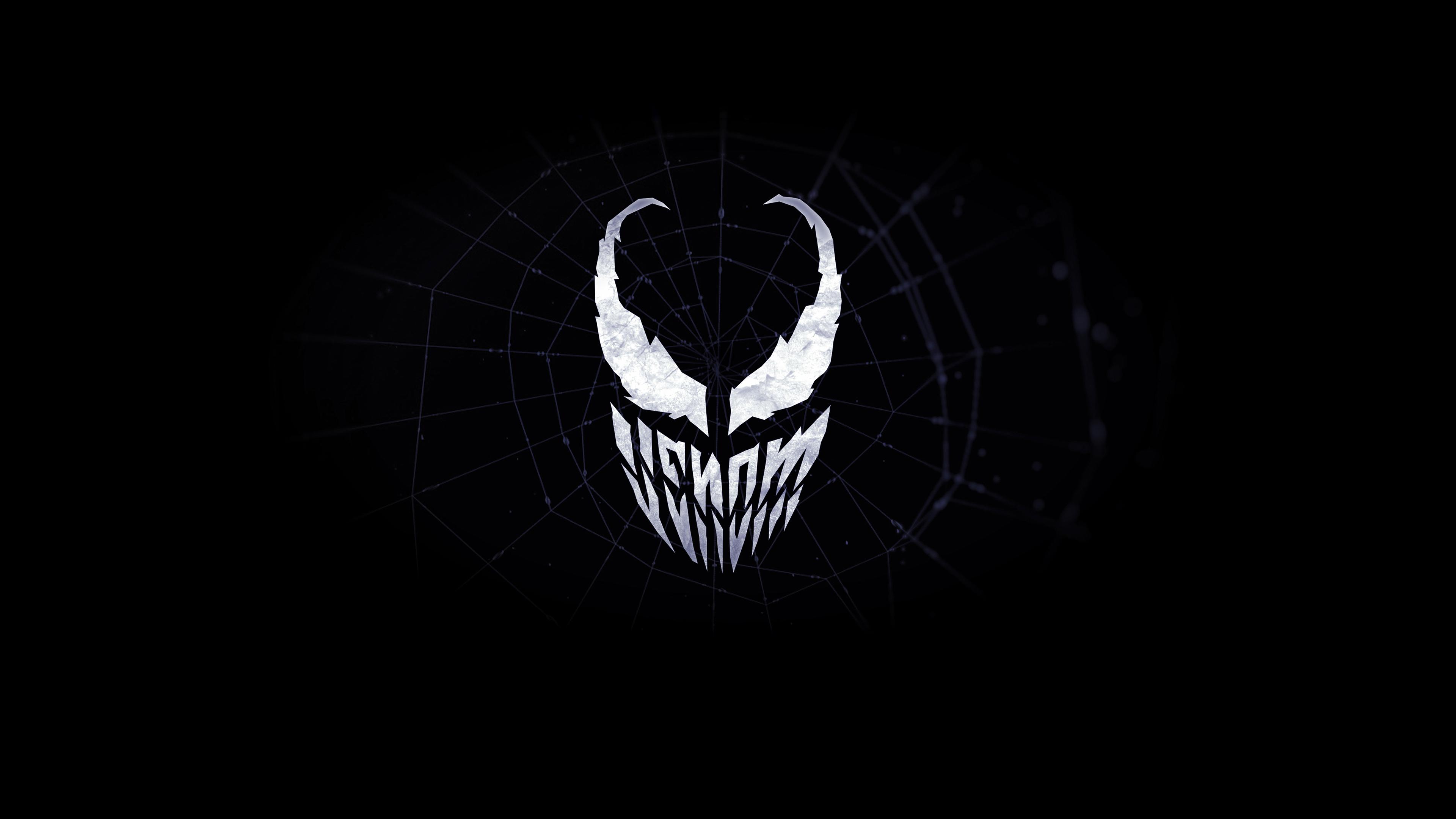 Venom Minimalist Logo 4k, HD Superheroes, 4k Wallpapers ...