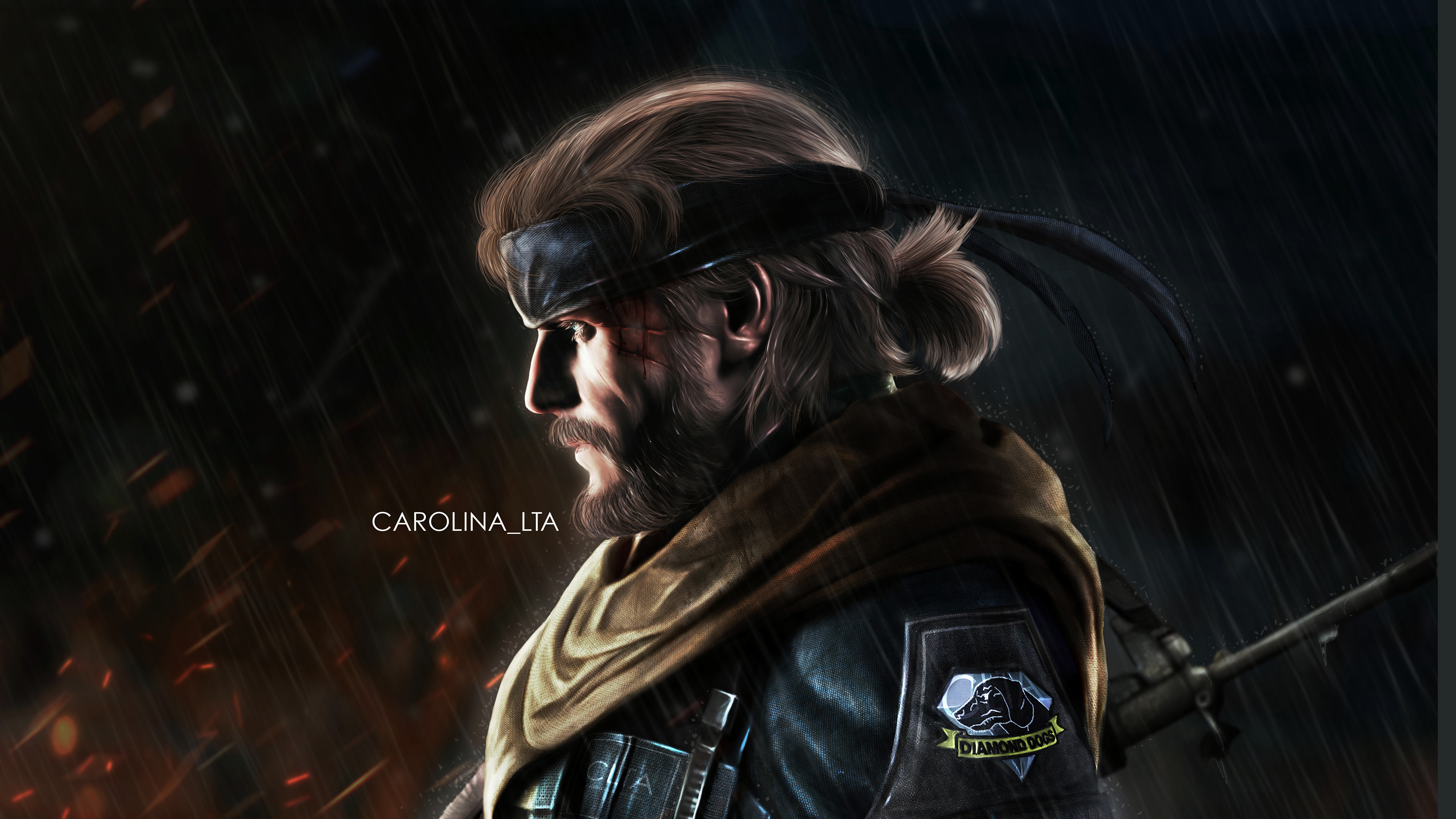 Venom Snake Warrior 4k Hd Artist 4k Wallpapers Images Backgrounds Photos And Pictures