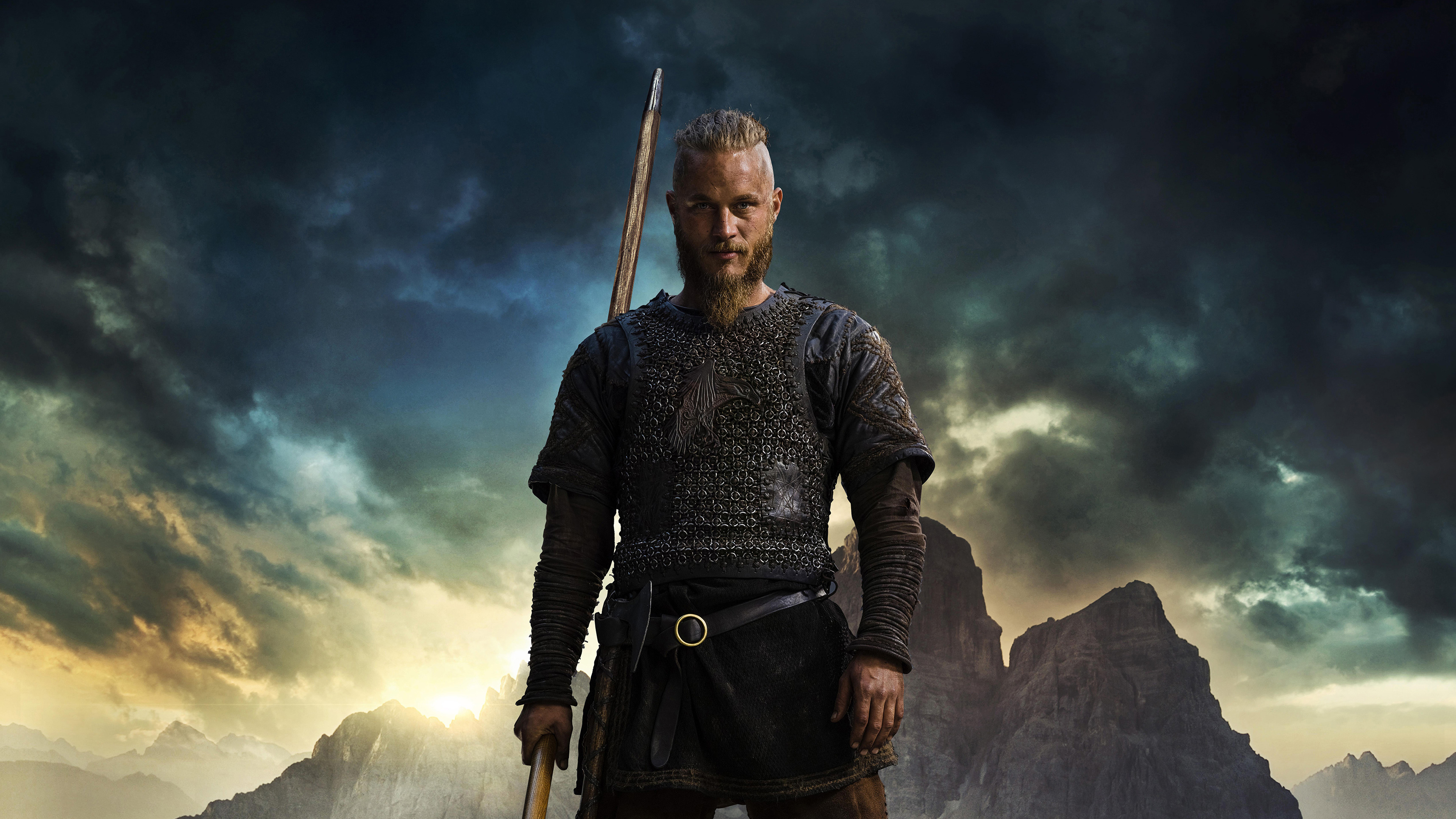 2560x1440 Vikings Ragnar 4k 1440p Resolution Hd 4k Wallpapers Images Backgrounds Photos And Pictures