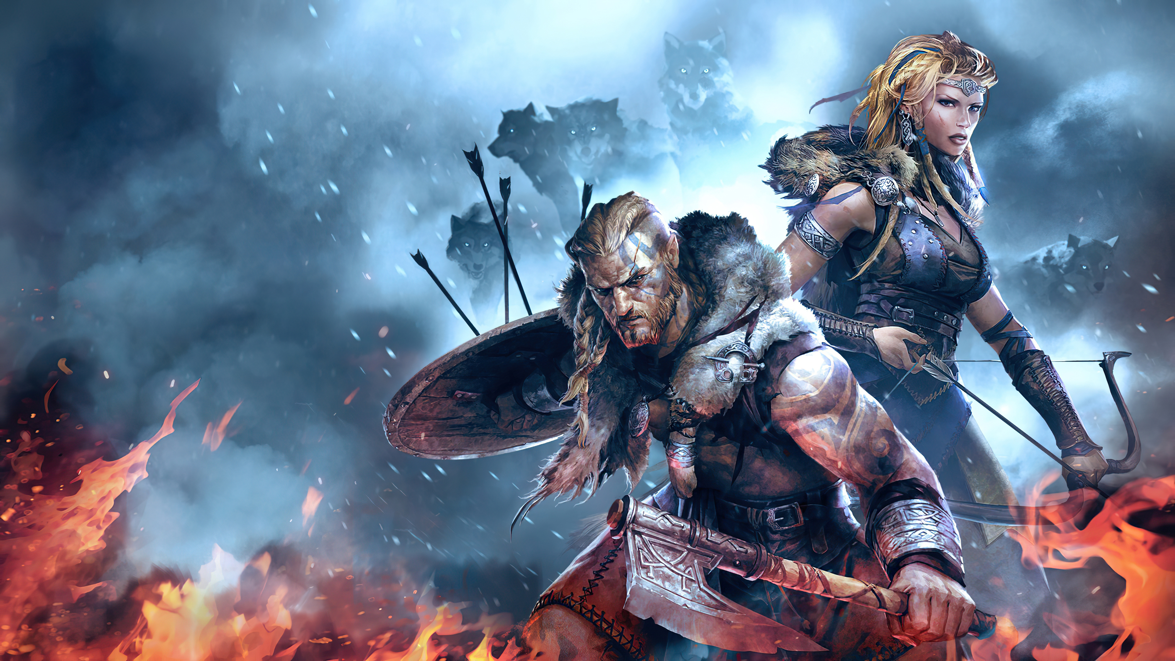 Vikings Wolves Of Midgard 4k Hd Games 4k Wallpapers Images Backgrounds Photos And Pictures