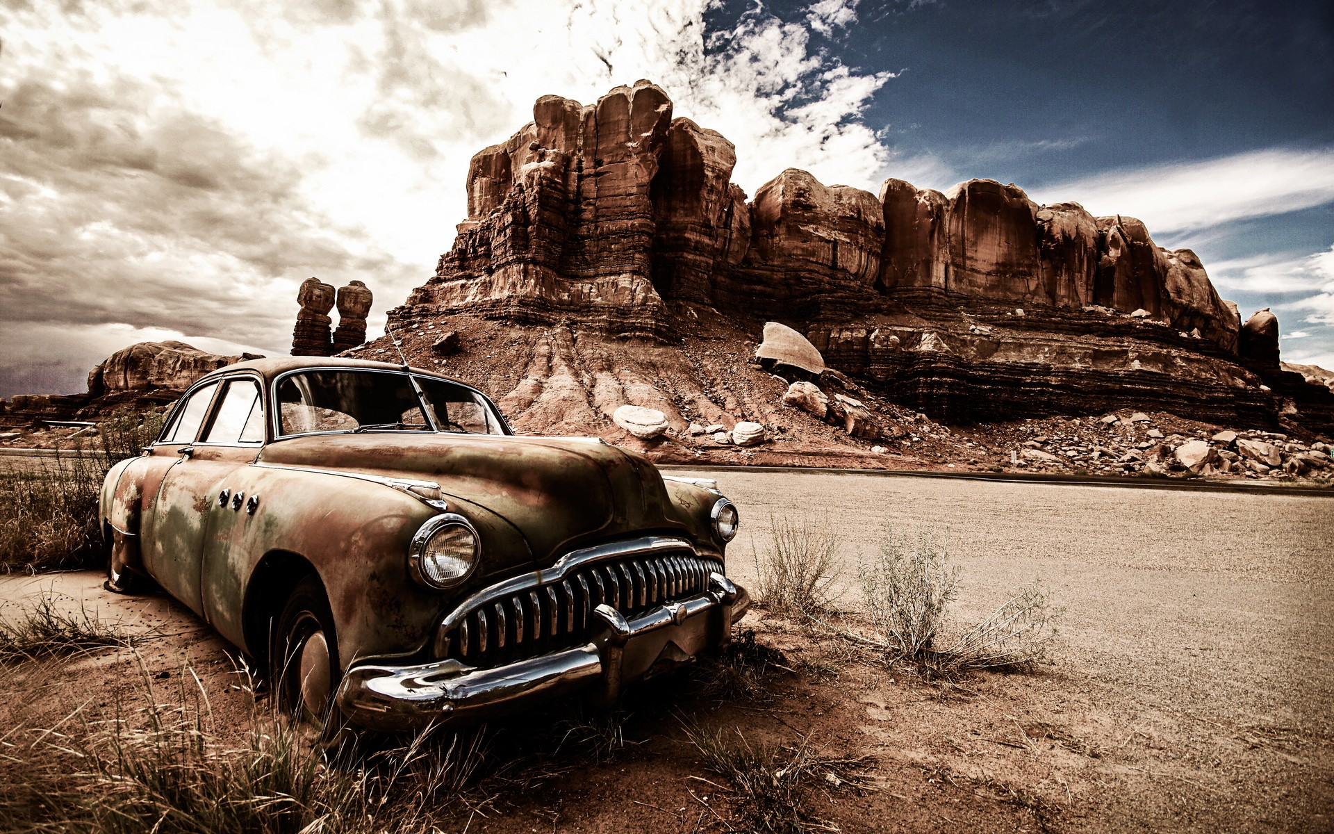 Vintage Dusty Car Hd Cars 4k Wallpapers Images Backgrounds Photos And Pictures