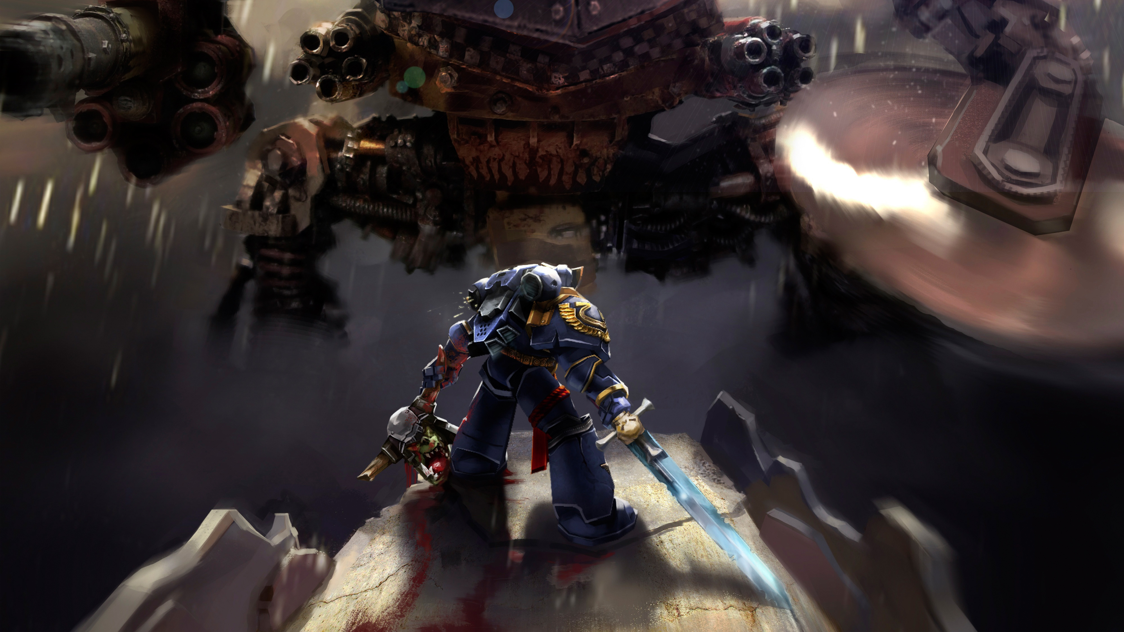Warhammer 40k Space Marine Ultramarines Hd Games 4k Wallpapers Images Backgrounds Photos And Pictures