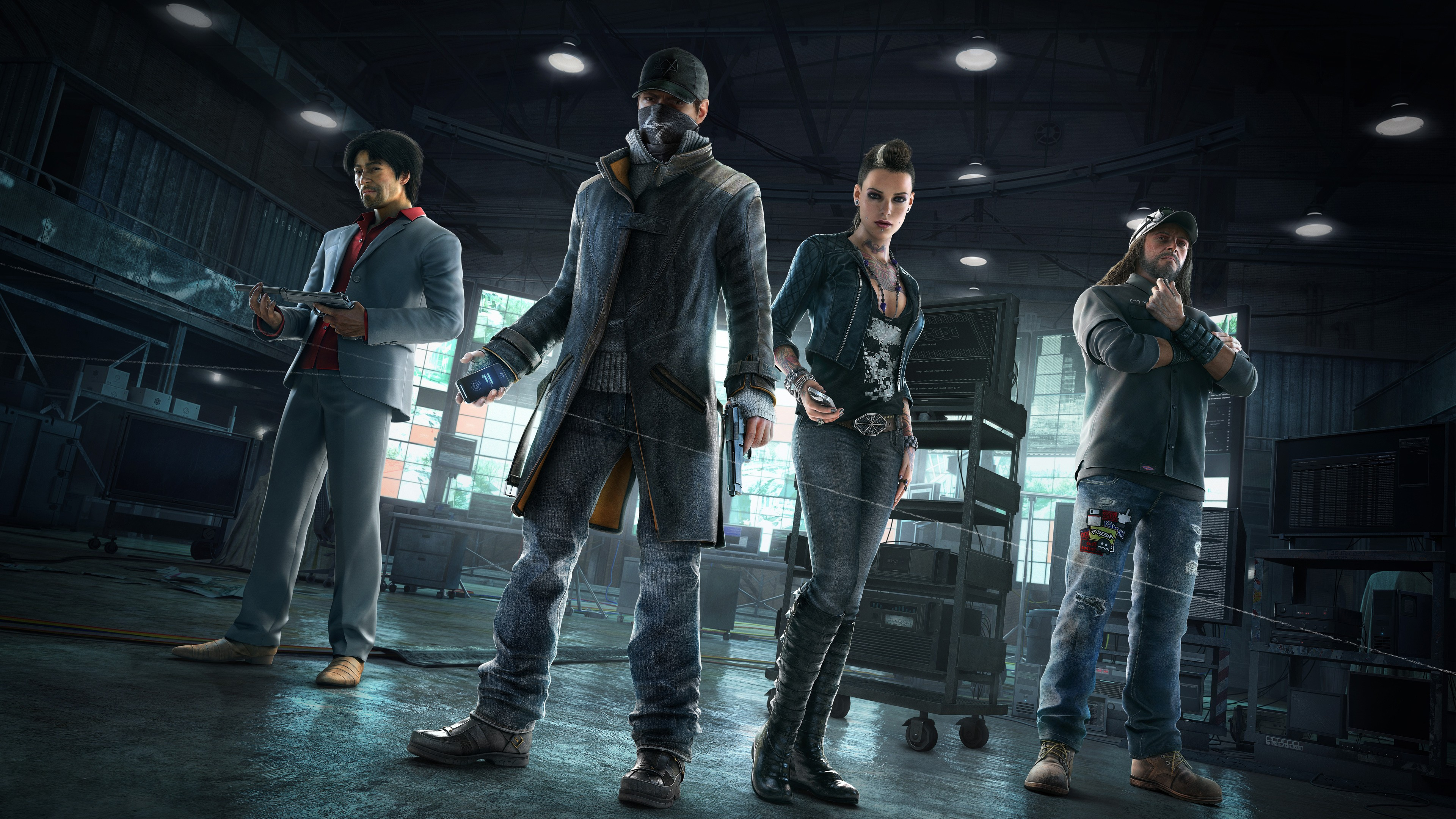 480x854 Watch Dogs 2 Android One Hd 4k Wallpapers Images