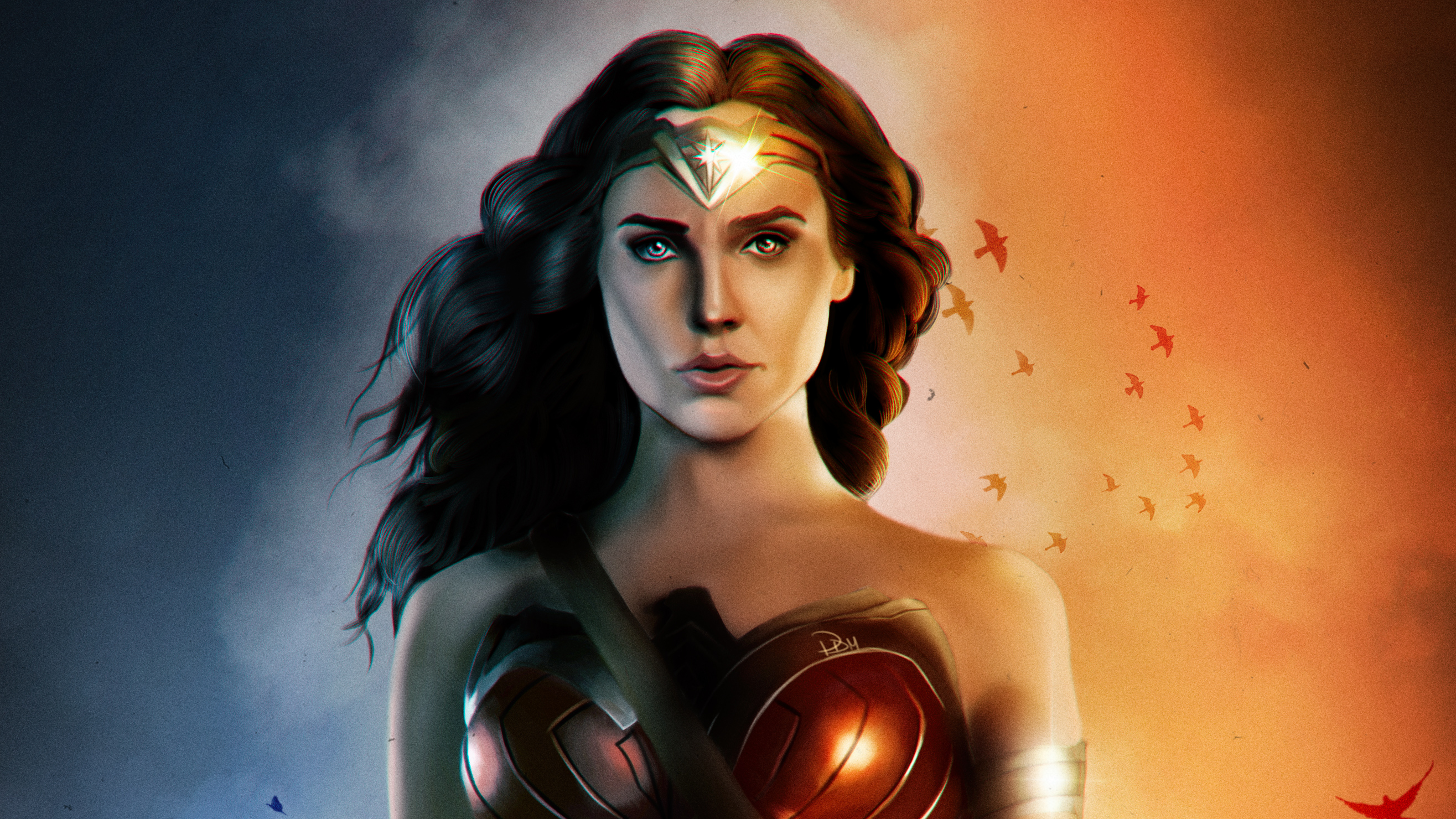 Wonder Woman Gal Gadot Fanartwork Hd Superheroes 4k Wallpapers