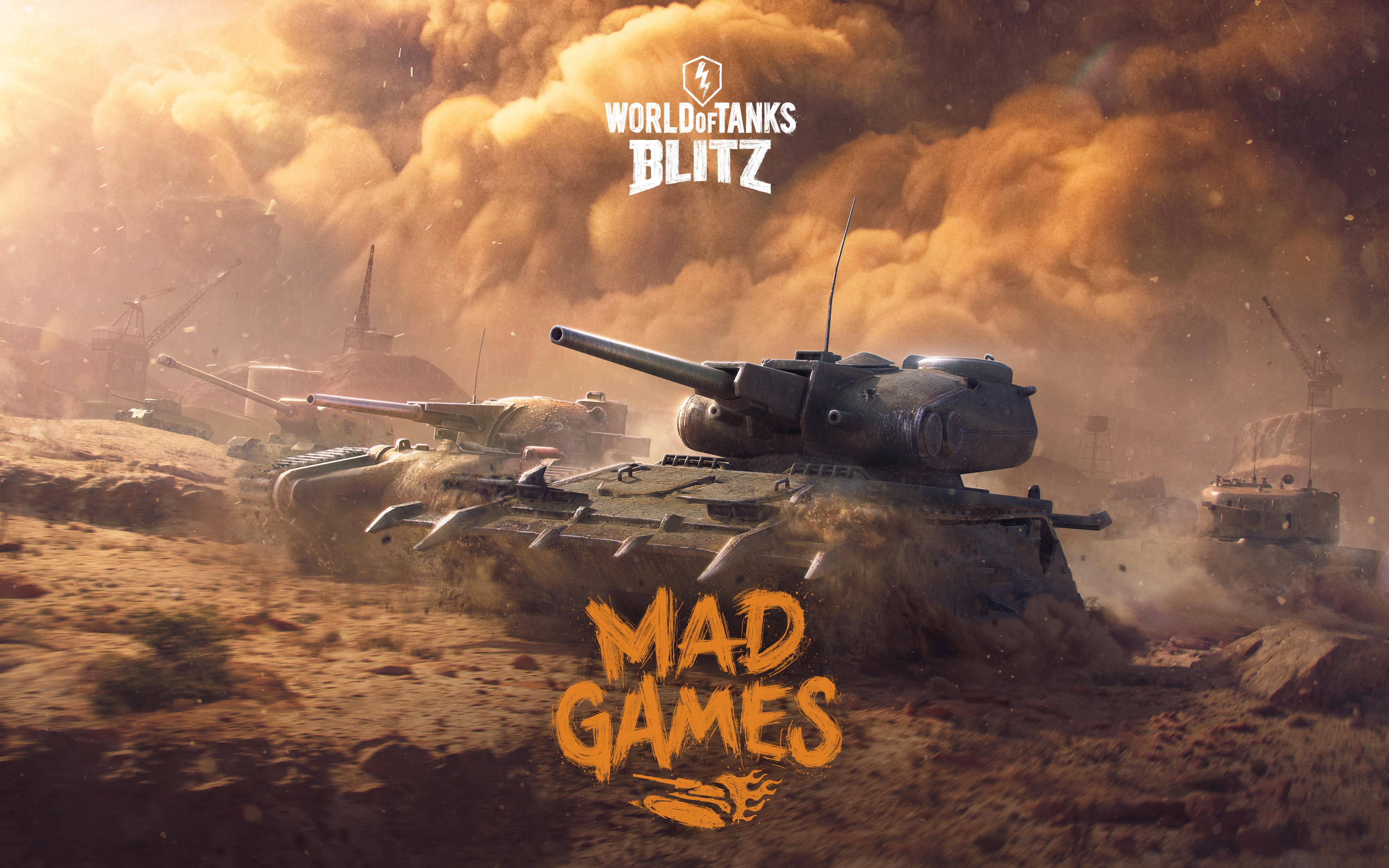 3840x2160 World Of Tanks Blitz Mad Games 2018 5k 4k HD 4k ...