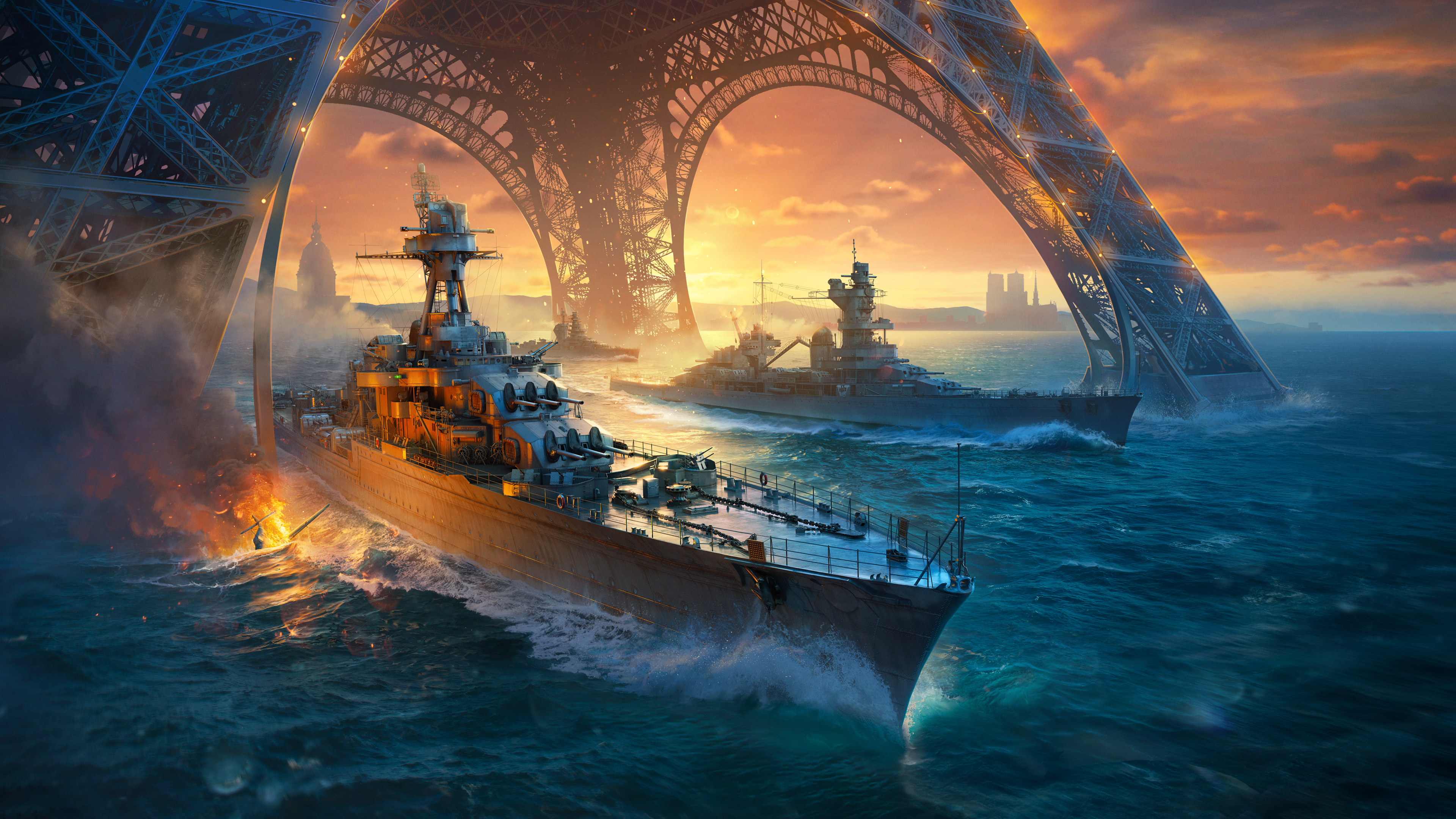 World Of Warships Game 4k, HD Games, 4k ...