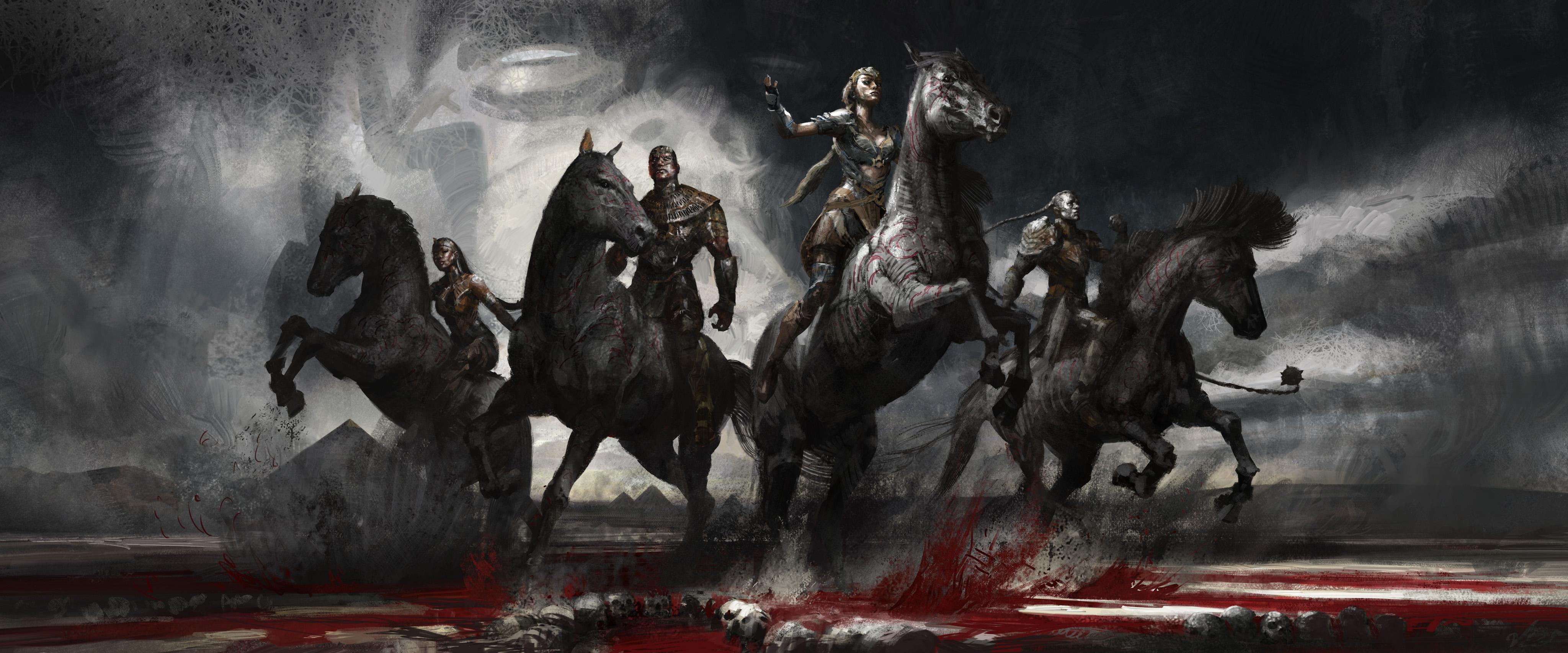 X Men Apocalypse Ancient Horsemen 4k Hd Artist 4k Wallpapers