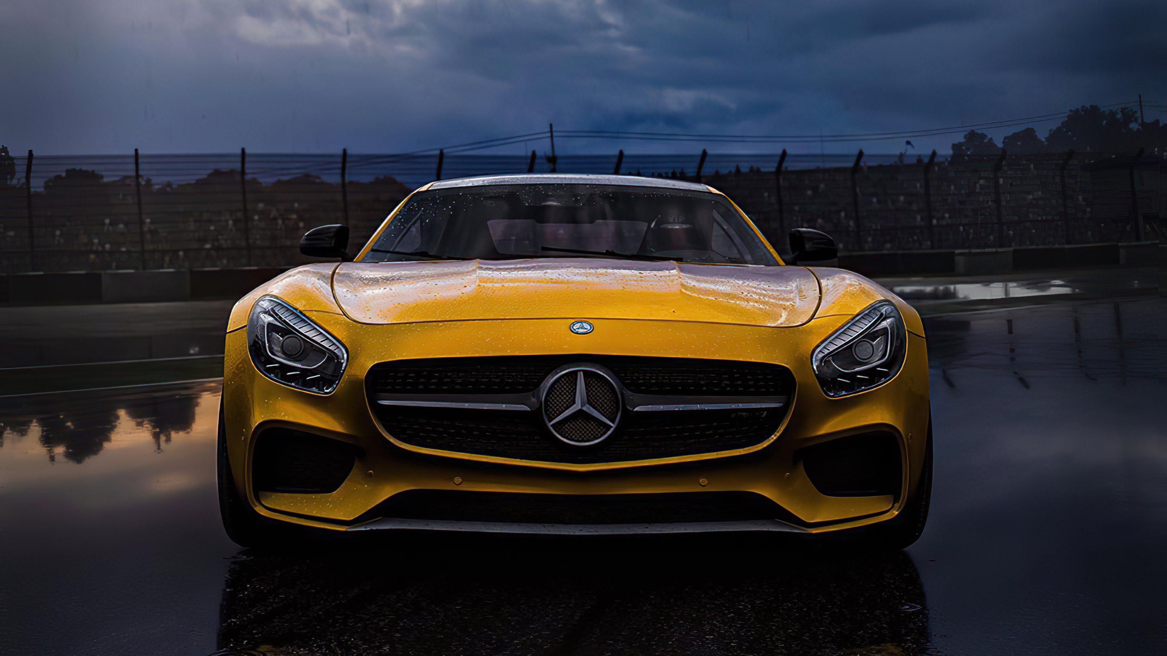 Yellow Mercedes Benz Amg 2020 4k, HD Cars, 4k Wallpapers ...