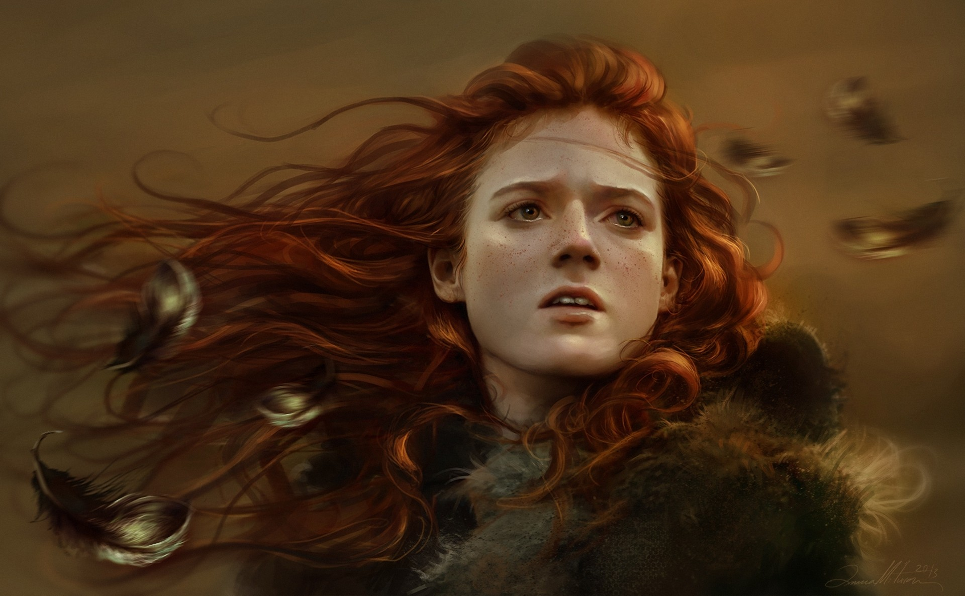 Ygritte Rose Leslie Game Of Thrones Artwork, HD Tv Shows, 4k Wallpapers, Images, Backgrounds, Photos and Pictures