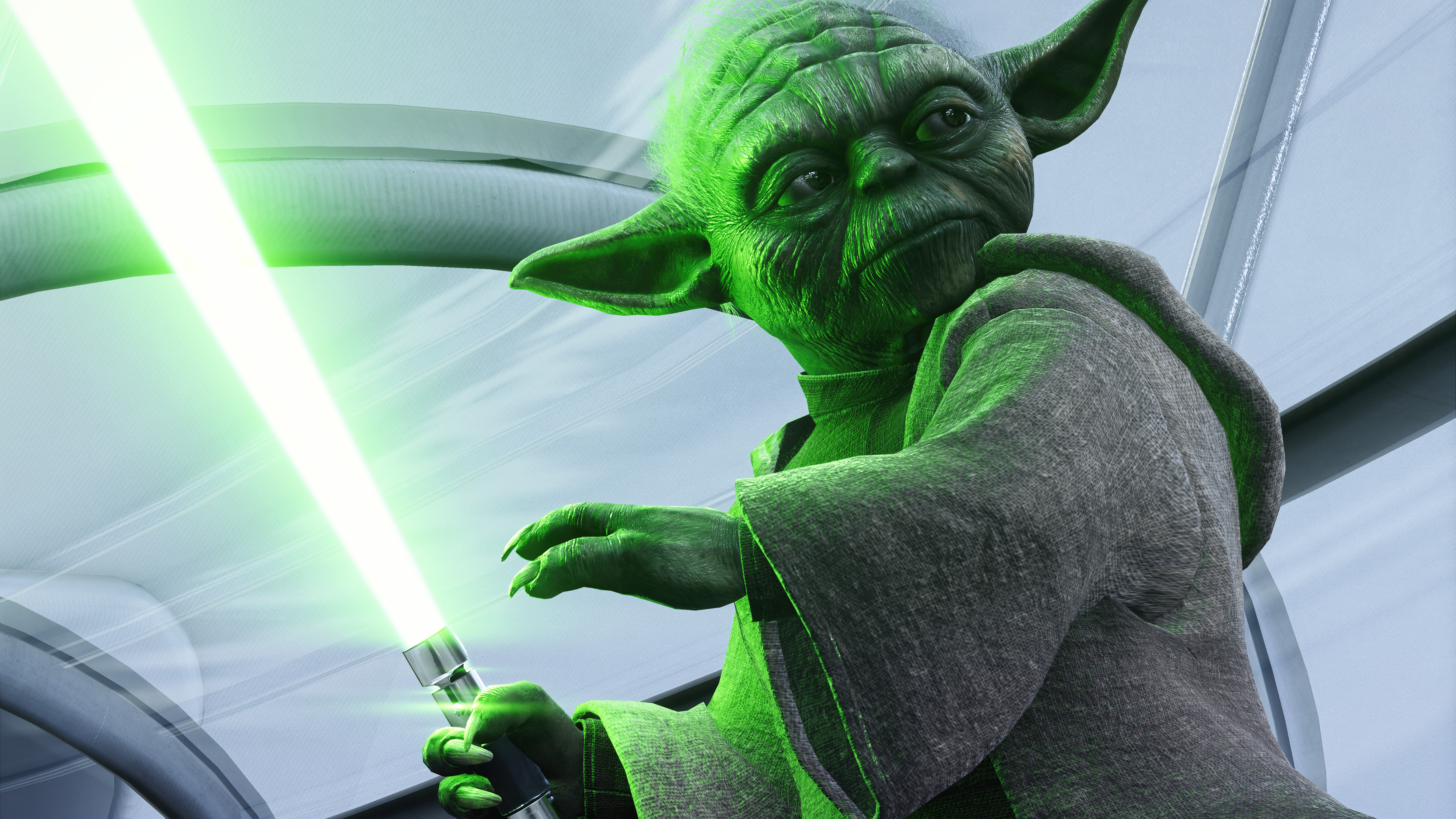 Yoda Star Wars Battlefront Ii 5k Hd Games 4k Wallpapers Images Backgrounds Photos And Pictures