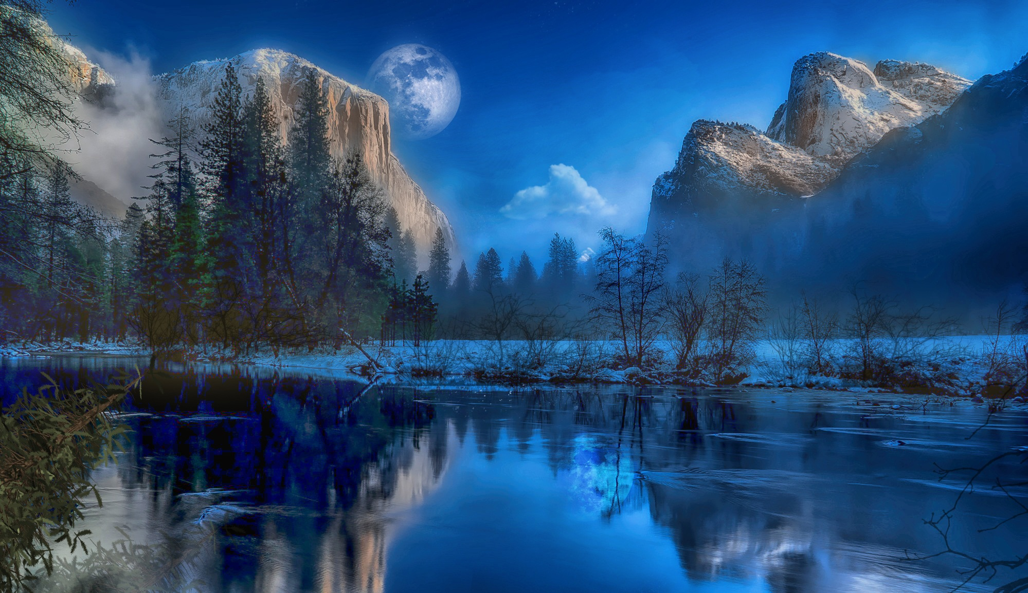 Yosemite Park Fantasy Hd Nature 4k Wallpapers Images Backgrounds Photos And Pictures