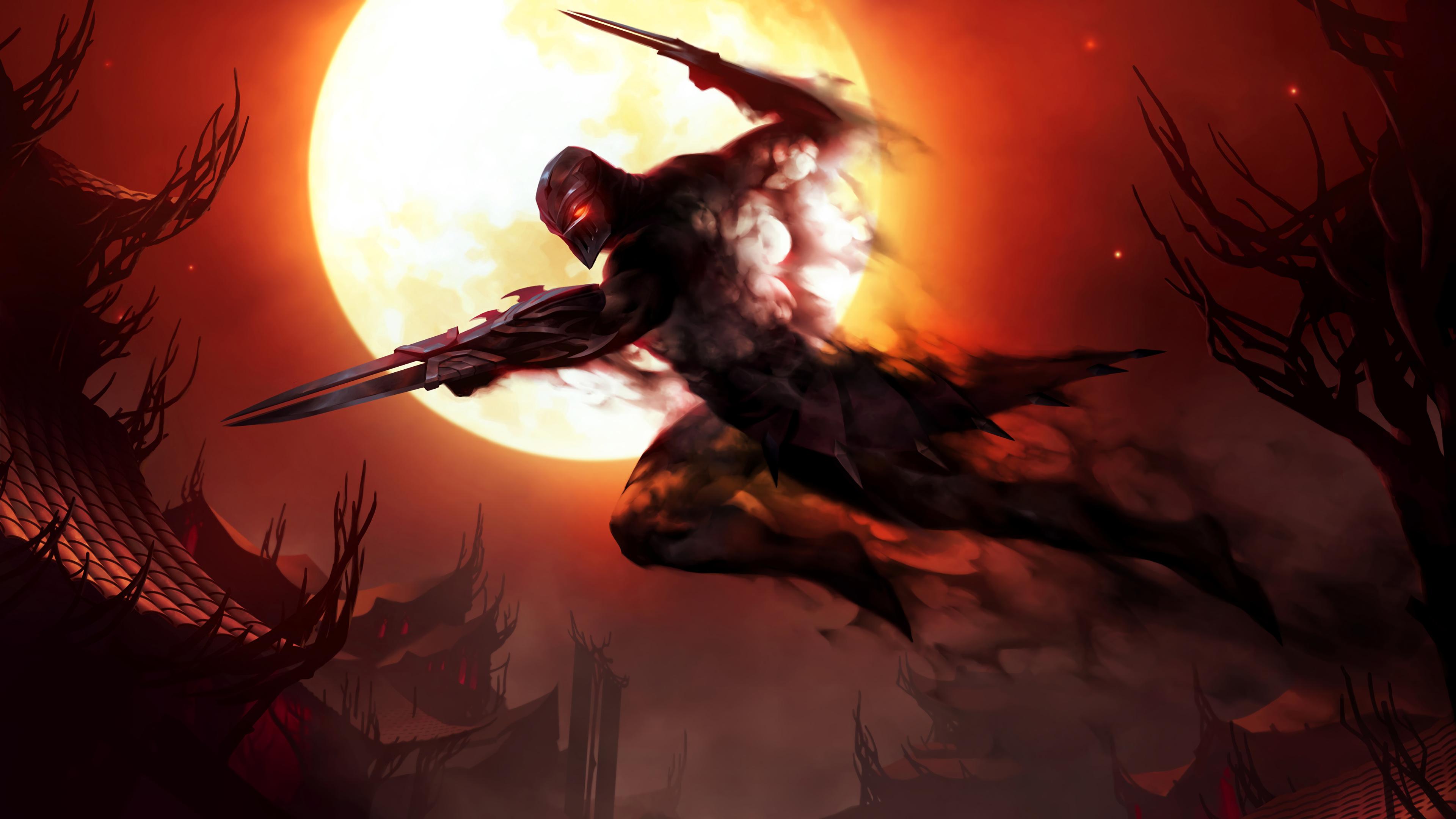 Zed Legends Of Runeterra League Of Legends 4k, HD Games ...