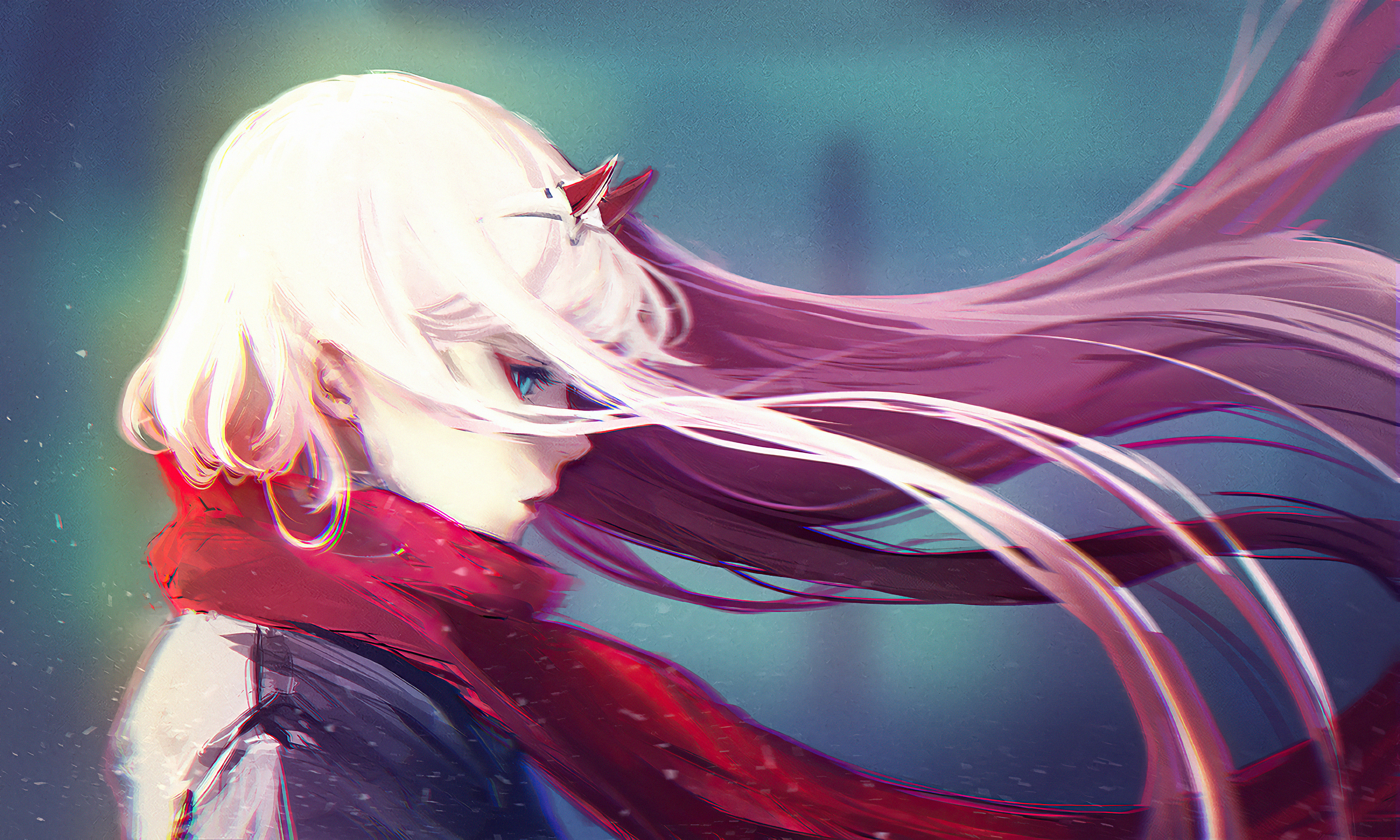 1366x768 Zero Two Darling In The Fran Xx 4k 1366x768 Resolution Hd 4k Wallpapers Images Backgrounds Photos And Pictures