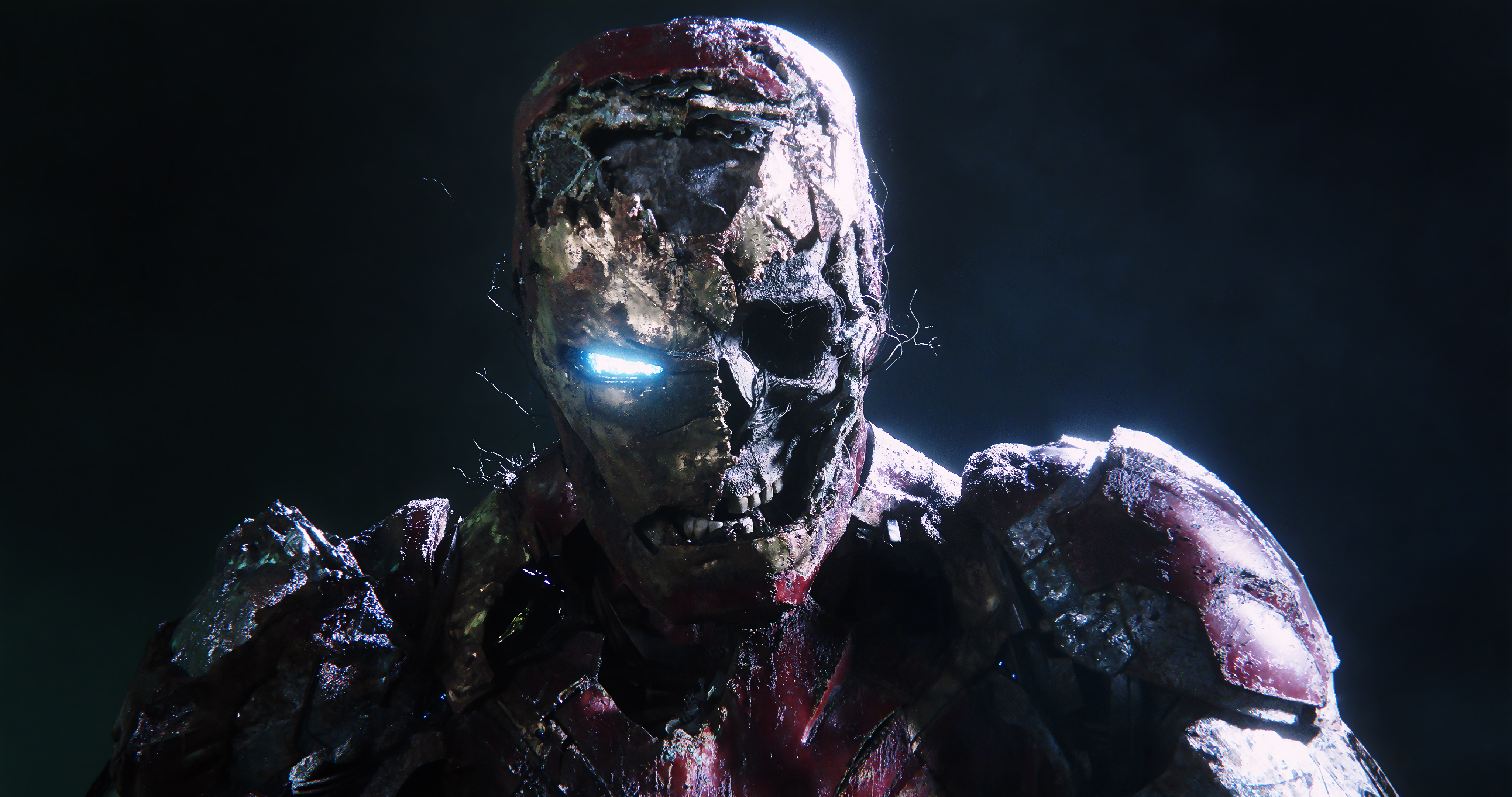 Zombie Iron Man In Spiderman Far From Home Hd Superheroes 4k