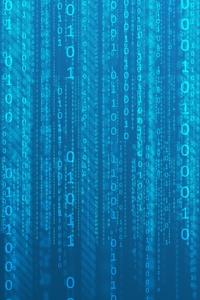 01 Computer Codes Texture Pattern Minimalism 5k