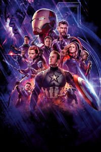 1125x2436 10k Avengers Endgame