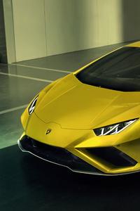 320x480 10k Lamborghini Huracan EVO RWD 2020