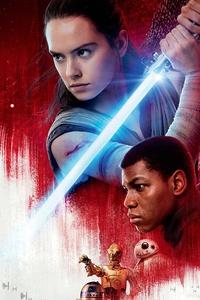 320x480 10k Star Wars The Last Jedi