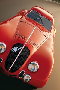 1242x2688 1938 Alfa Romeo 8C 2900B Speciale Le Mans