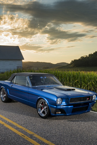 720x1280 1965 Ringbrothers Ford Mustang Convertible Ballistic
