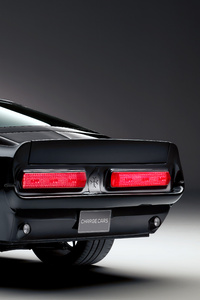 1967 Charge Cars Ford Mustang Rear View 8k