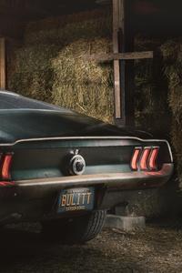 1968 Mustang GT Fastback 8k Rear