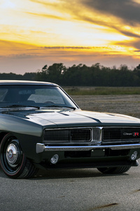 1969 Ringbrothers Dodge Charger Defector Front View