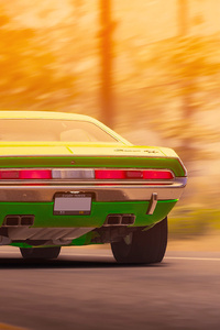 1970 Dodge Challenger RT From The Crew 2 Rear