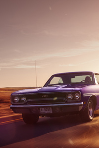 1970 PLYMOUTH GTX Front