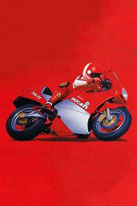 720x1280 1986 Ducati 750 F1 Minimal 5k
