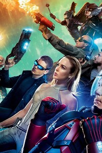1125x2436 2016 Legends of Tomorrow