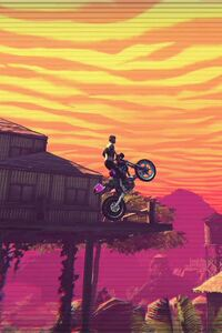 1280x2120 2016 Trials Of The Blood Dragon