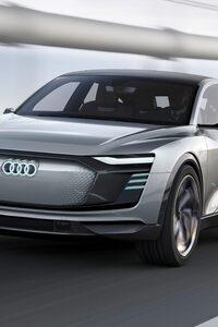 2017 Audi E Tron Sportback Concept 4k