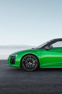 2017 Audi R8 Spyder V10 Plus 4k