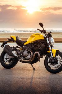 2017 Ducati Monster 821 4k