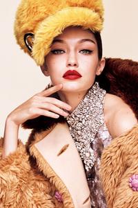 2017 Gigi Hadid Vogue