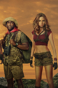 320x480 2017 Jumanji Welcome To The Jungle Movie 5k